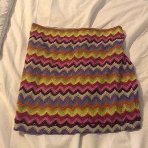 Chelsea and violet chevron skirt